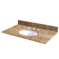 Granite Bathroom Vanity Tops Home Depot Pegasus Montesol Granite Vanity Top 37 Inch X 22 Inch