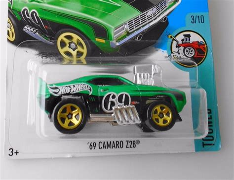 69 Camaro Z28 Hijau Hotwheels 69 camaro z28 wheels 2017 r 17 90 em mercado livre