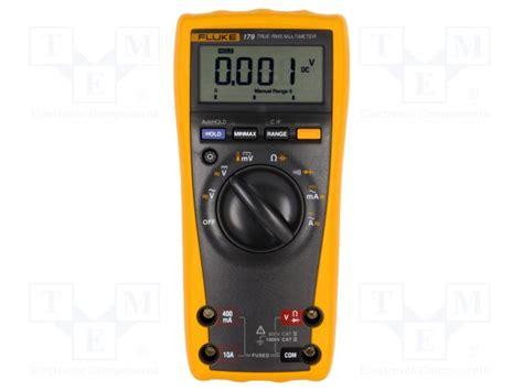 Multimeter Fluke 179 fluke 179 fluke digital multimeter tme electronic