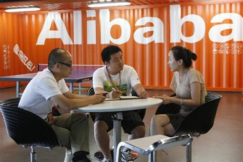 alibaba employees alibaba com plans to go private shares shoot up 43