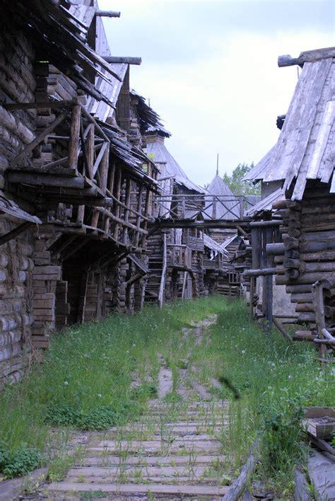 film about ghost village in scotland medieval novgorod architecture