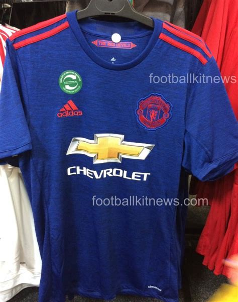Jersey Manchester United 2016 2017 leaked manchester united to blue away kit in 2016 17