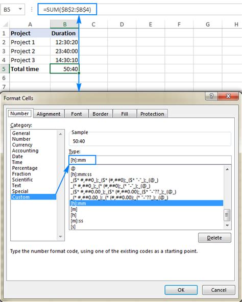 excel format hours over 24 how to add subtract time in excel to show over 24 hours