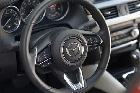 mazda steering wheel report mazda6 could get cx 9 s 2 5 liter turbo four