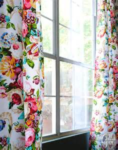Curtains With Flowers Dining Room Updates Floral Curtains Amp Bokhara Rug