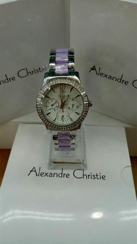 Jam Tangan Wanita Alexandre Christie Ac2608 White Original Jual Jam Tangan Wanita Alexandre Christie Original Ac 2680