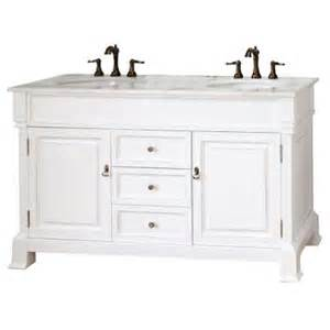 60 Vanity Marble Top Bellaterra Home Cambridge Wh 60 In Vanity In White