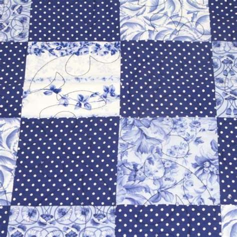 Patchwork Quilt Blue - china blue patchwork quilt detail q000101 blue patchwork