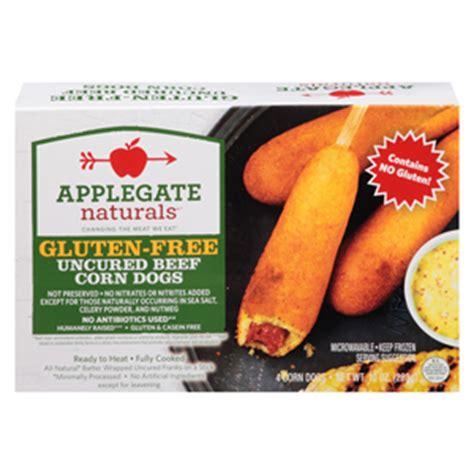 applegate dogs gluten free corn dogs 2012 09 17 refrigerated frozen food