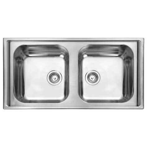 rangemaster kitchen sinks rangemaster manhattan 2 0 bowl stainless steel kitchen