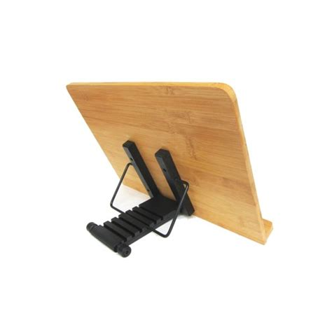 mylifeunit bamboo book stand desktop book reading stand