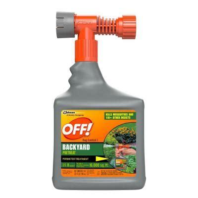 backyard bug control off 32 oz bug control backyard pretreat 621878 the home depot