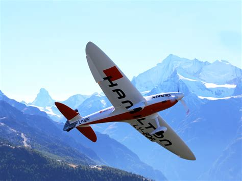 Electric Airplane by After Solar Impulse 2 Andre Borschberg Launches H55 An