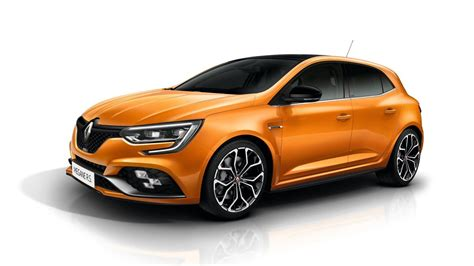 renault hatchback 2018 renault megane rs is the best hatchback at iaa