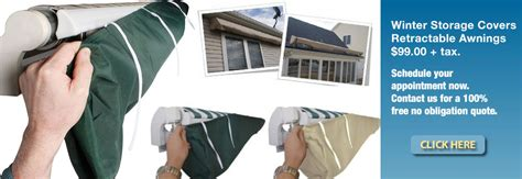 Retractable Awning Covers by Winter Storage Covers For Retractable Awnings Awnings Of