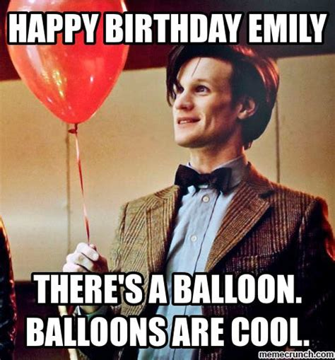Emily Meme - happy birthday emily