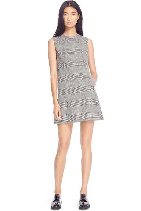 sleeveless plaid a line dress work mode pre fall 2016 work clothing trends at nordstrom