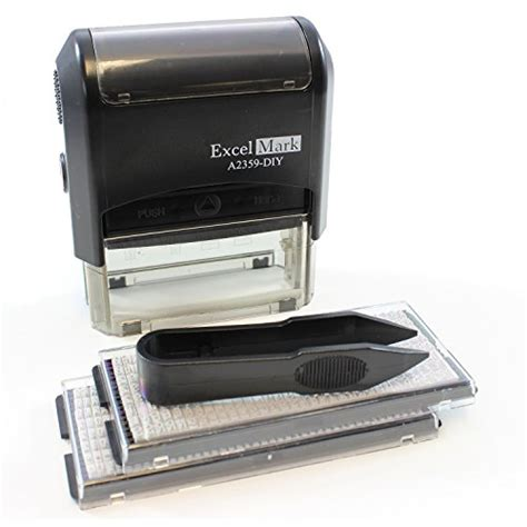 self inking black light sts galleon excelmark self inking do it yourself st kit