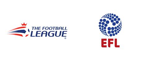 english football league and brand new new name and logo for english football league