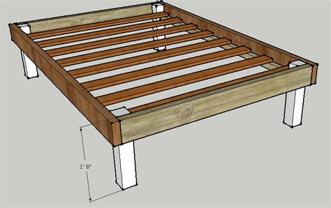 Wooden Bed Frame Plans Build Wooden Bed Frame Wooden Plans Guide Ebook Uk