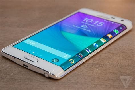 Samsung Note Edge The Galaxy Note Edge Is A Flagship Phone With An Entirely