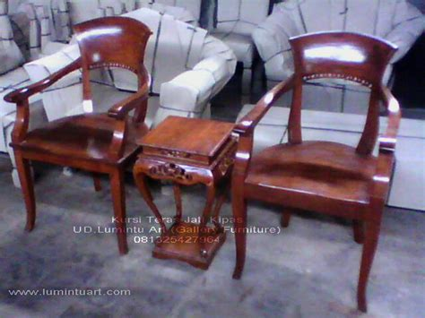 Kursi Teras Jati Jepara 2 kursi teras kayu jati jepara ukiran kipas set mebel jepara ud lumintu gallery furniture