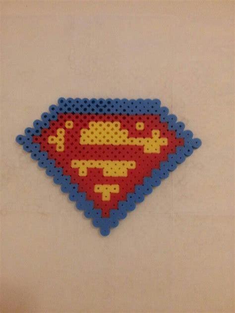 perler superman perler superman perlerbeads perler