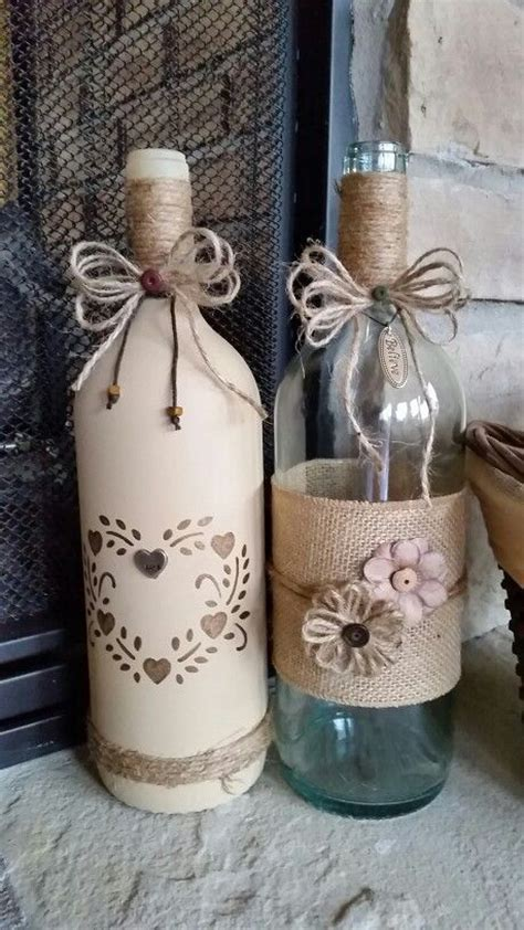 25 best ideas about decorating wine bottles on