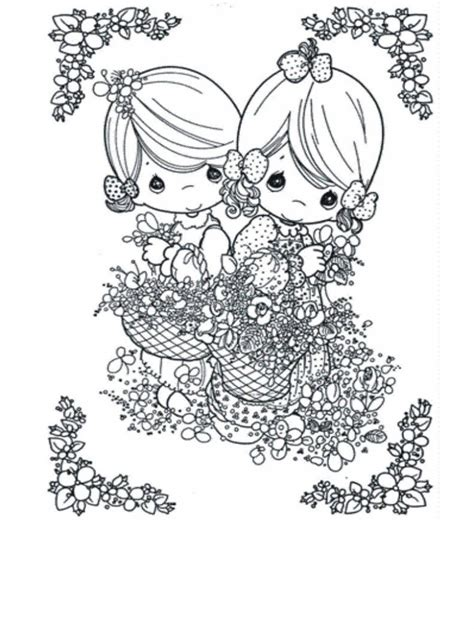 Free Printable Precious Moments Coloring Pages For Kids Precious Moments Wedding Coloring Pages