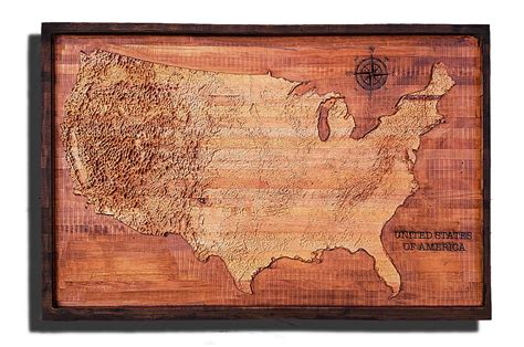 united states map review united states of america topographical map from a varity