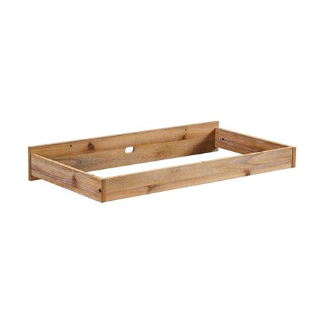 baby relax macy changing table topper tray  rustic