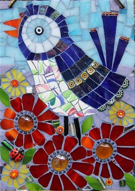 Mosaic Pattern Birds | bird mosaic by remygem mosaic patterns pinterest