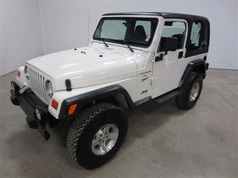 car manuals free online 2000 jeep wrangler on board diagnostic system purchase used 2000 jeep wrangler hardtop 5 speed manual 2 owner colorado no rock salt 80pics in