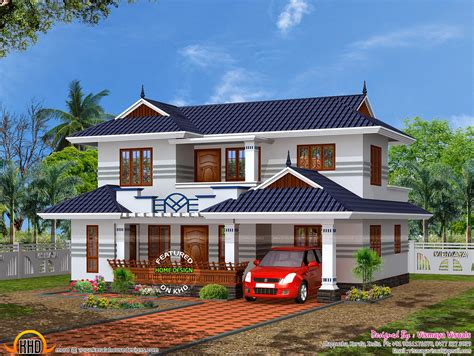typical kerala house plan kerala home design and floor plans