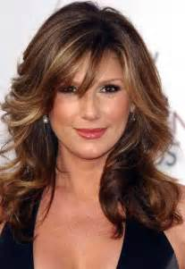 hairstyles for 50 for brown hair and highlights 30 hairstyles women over 40 long hairstyles 2016 2017