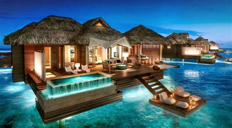 sandals south coast opens booking on overwater bungalows sandals resort re open newly remodelled sandals south