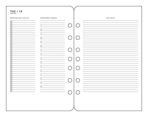 Franklin Covey Daily Planner Template 6 Best Images Of Franklin Covey Printable Pages Franklin Covey Daily Planner Refills Franklin