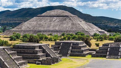imagenes de ruinas aztecas pir 225 mide de teotihuac 225 n