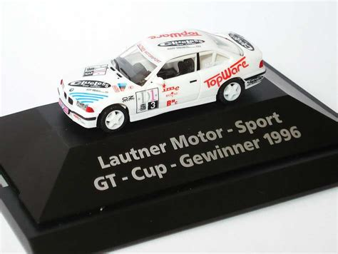 Herpa Bmw 3er Coupe Lautner Motorsport Gewinner Gt Cup 1996 1 87 bmw m3 coup 233 e36 gt cup 180 96 lautner motorsport topware nr 3 simon gt cup gewinner 1996