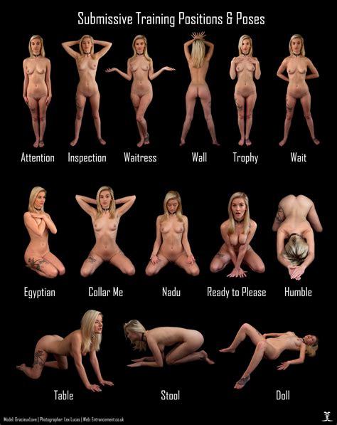 Bdsm submissive position