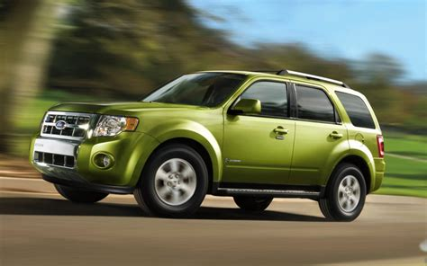 Best Suv Hybrid Gas Mileage by Most Fuel Efficient Suvs Top 10 Best Gas Mileage Suv