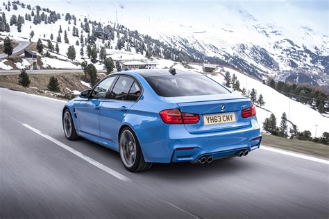bmw m3 2014 bmw m3 saloon and m4 coupe uk price