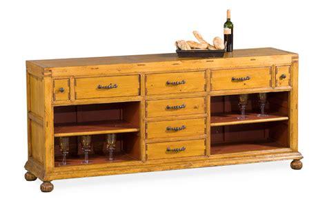 buffet kitchen island buffet cabinet kitchen island sideboard solid pine 8 drawers 7 new fr ship ebay