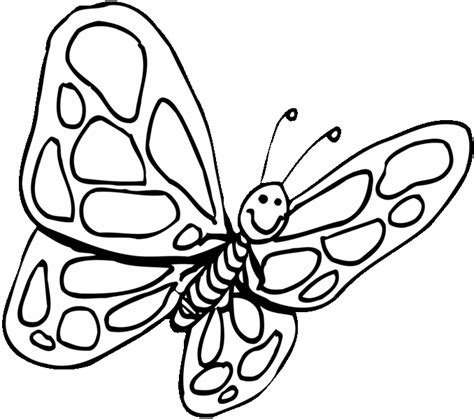 butterfly coloring pages momjunction butterfly color template clipart best