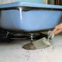 badewanne erden installation einer badewanne anleitung