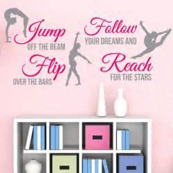 gymnastics wall stickers gymnastics quotes reviews online shopping gymnastics