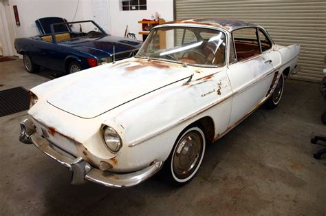 french rarity 1960 renault caravelle convertible