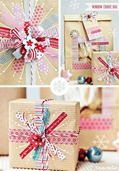 Craft Paper Gift Wrap - diy gift wrapping with washi and kraft paper 2
