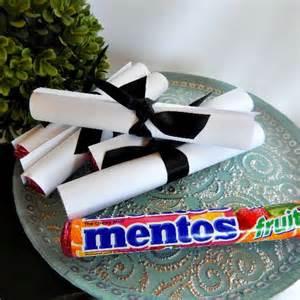 Diy Graduation Favor Ideas by Menos Diy Graduation Favors Simple And Easy Mentos
