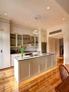 Shaker Kitchen Island by Functional White Shaker Kitchen Designers Portfolio